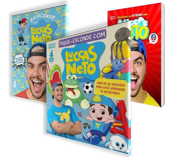 As Aventuras + Brincando + Pique-esconde Com Luccas Neto