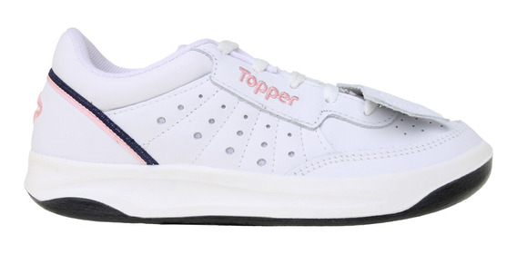Zapatillas Topper C Tennis Lady X Forcer Mujer Bl/rs