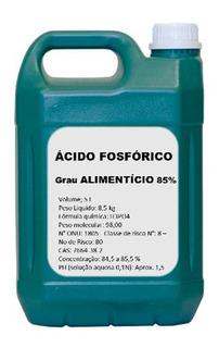 Ácido Fosfórico 85% - Grau Alimentício 5 Litros