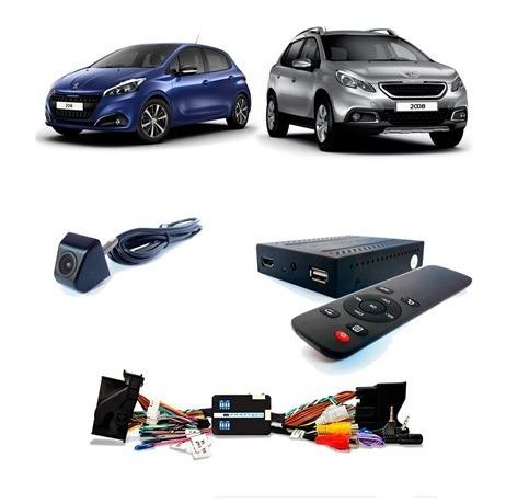 Desbloqueio De Tela + Tv Hd + Câmera Peugeot 208 / 2008