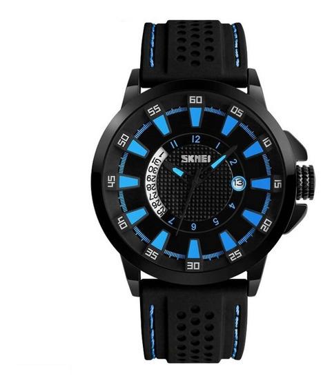 Relógio Masculino Skmei Analógico 9152 Azul Original
