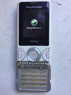 Celular Sony Ericsson W205 A De Telcel Con Detalle Minimo