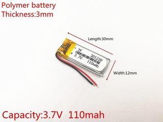 Bateria 110 Mah 3,7v Óculos Nvidia Fone De Ouvido Etc