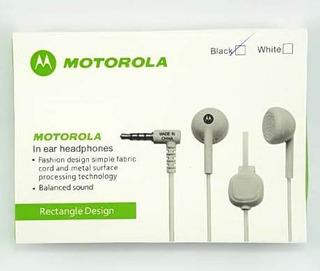 14 - Fone De Ouvido C/ Microfone Motorola Premium