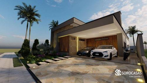 Imagem 1 de 7 de Casa Com 3 Dormitórios À Venda, 223 M² Por R$ 1.700.000,00 - Alphaville Nova Esplanada 3 - Votorantim/sp - Ca1911