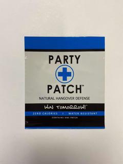 Party Patch Parche Anti Resaca Anti Cruda 10 Piezas