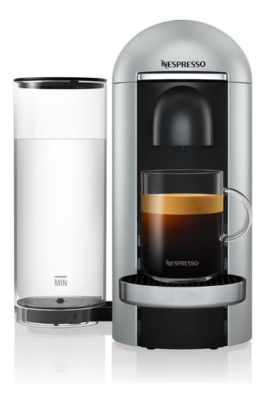 Cafetera Nespresso Vertuo Plus Color Plata