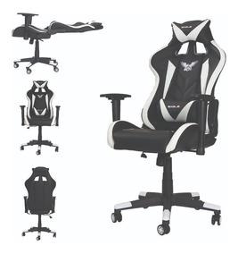 Cadeira Gamer Pro Reclinável Giratória Braço 3d Frete Grátis