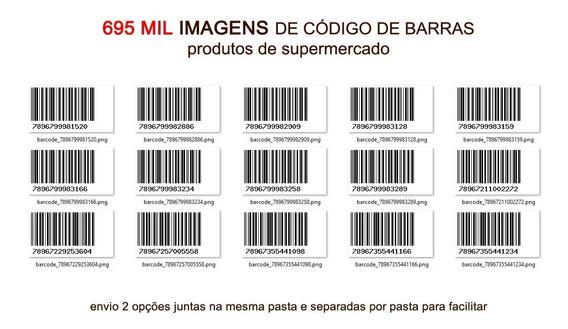 Banco De Imagens Código De Barras Mercado 695k Com Cadastro