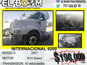 Cabina Internacional 9200i 6x4 Año 2001 N14 Celect 10 Vel