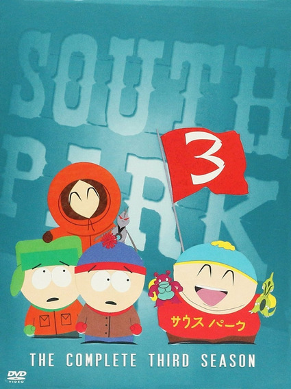 Serie South Park Temporada 3, Original Dvd