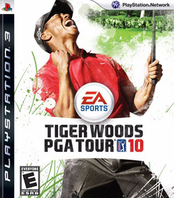 Jogo Mídia Física Tiger Woods Pga Tour 10 Playstation Ps3