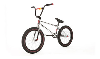 Bmx Bicicleta Fit Bike Co Mac Chrome 20,75 - Purobmx