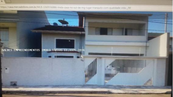 Casa Para Venda Em Pouso Alegre, Pousada Dos Campos I, 3 Dormitórios, 1 Suíte, 3 Banheiros, 4 Vagas - 20000/1429 C - Permuta