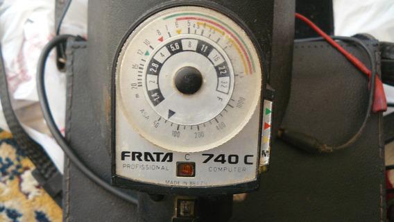 Antigo Flash Frata 740c Profissional Vintage