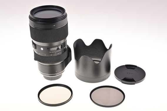 Lente Sigma P/ Nikon 50-100mm Apsc Abertura 1.8