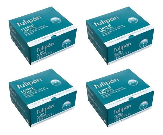 Tulipán- Preservativos Control Retardante 4 Cont. X12 Caj.