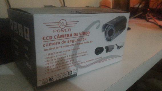 Câmera Aprica Ccd Video Led Lente 3.6mm 1000 Linhas Infra