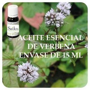 Aceite Esencial De Verbena 15 Ml Saiku Natural En Belgrano