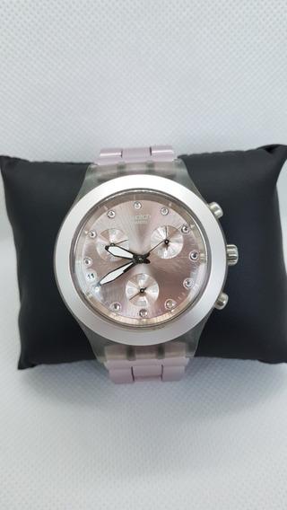Relógio Swatch Irony Rosa A Prova D