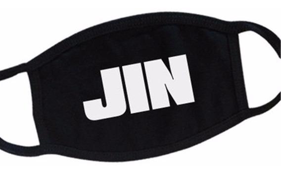 Cubrebocas Jin Bts Kpop Coreano