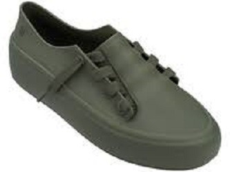 Tênis Melissa Ulitsa Sneaker Preto Original 33/34 Rj