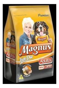 Ração Magnus Todo Dia 25kg Sabor Carne Cães Adultos