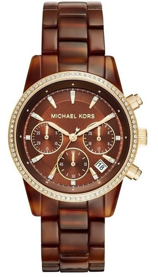 Relógio Michael Kors Feminino Ritz Cronógrafo Mk6279/8mn