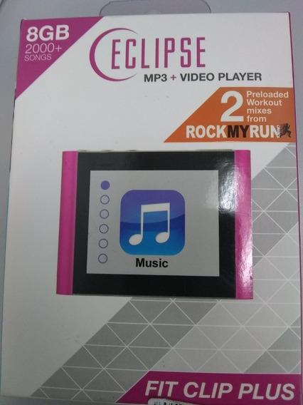 Mp3 + Video Player Fit Clip Plus Pk 8 Gb 1.8