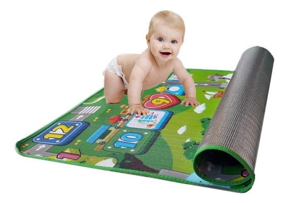 Tapete Tatame Infantil Térmico Para Bebê 0,9 X 1,20 + Brinde