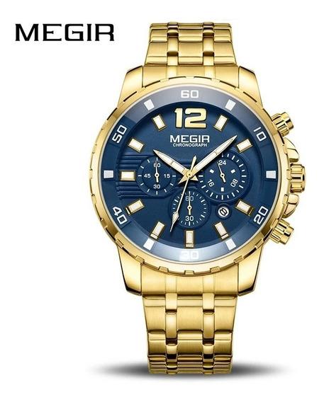 Relógio De Pulso Megir 2068 ( Importado + Prova D