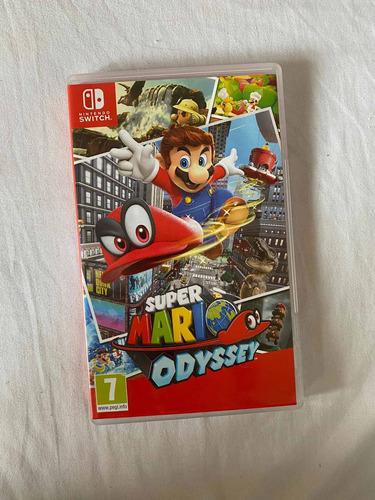 Super Mario Odyssey Nintendo Switch - Disponible