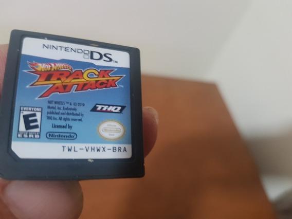 Hot Wheels Track Attack Usado Original Nintendo Ds