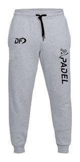 Pantalon Jogging Largo Talles Especiales Padel Df