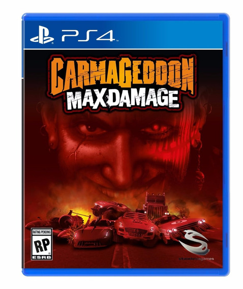Carmageddon Max Damage - Ps4 - Pronta Entrega!