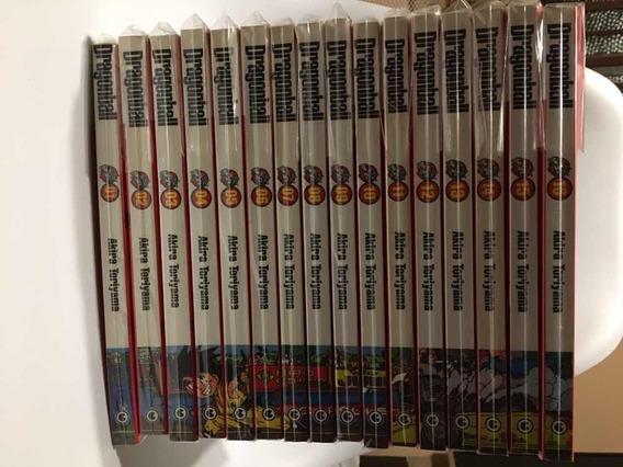 Coleção Mangás Dragon Ball Edição Definitiva Conrad 1 Ao 16