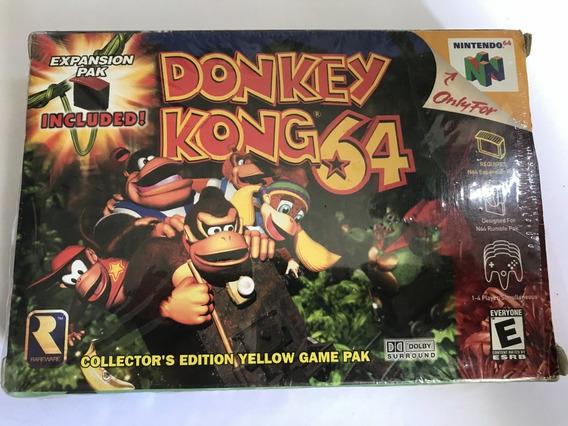 Donkey Kong 64 Completo + Cartucho De Expansão