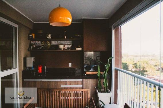 Apartamento Com 2 Dormitórios À Venda, 100 M² Por R$ 550.000 - Jardim Das Indústrias - São José Dos Campos/sp - Ap0496