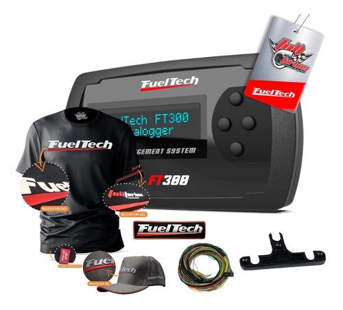 Imagem 1 de 5 de Fueltech Ft300 Com Chicote 3m + Mega Brindes Camiseta Gel+bc
