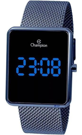 Relógio Champion Digital Ch40080a Azul