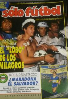 Solo Futbol N°521.atlanta Campeón De La B Y Temperley De La