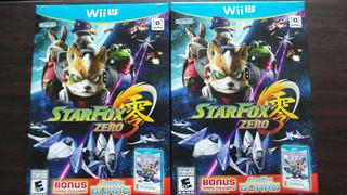 Starfox Zero Wii U Nuevo Sellado