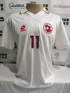 Camisa Suiça Copa Do Mundo 1994 Chapuisat 11 À P/ Entrega