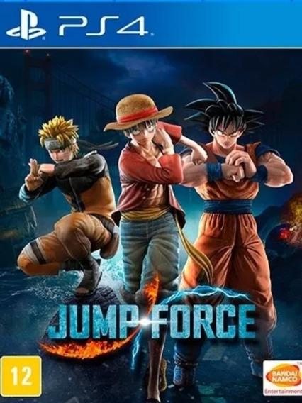 Jump Force Ps4 Digital1 Original Psn- Garantia Vitalícia