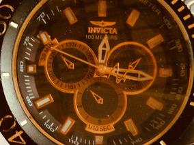 Relógio Invicta 50 Mm De Caixa, Grandão, Tipo Ostentação.