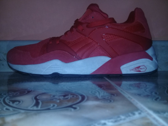 Zapatillas Puma Trinomic Red Uk 10 Eur 44.5 Us 11 Cm29