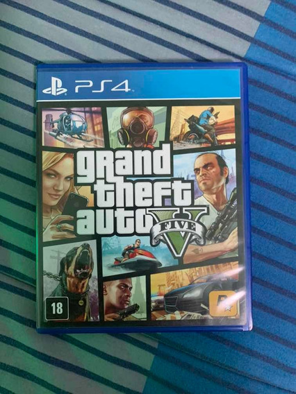 Gta 5 - Grand Theft Auto V - Ps4