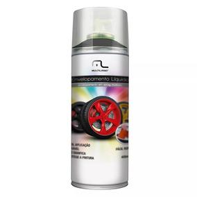 Spray Envelopamento Líquido Preto Fosco Multilaser
