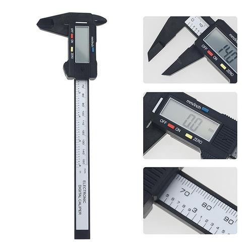 Caliper Medición Vernier Calibrador Micrómetro 150mm 6  Lcd