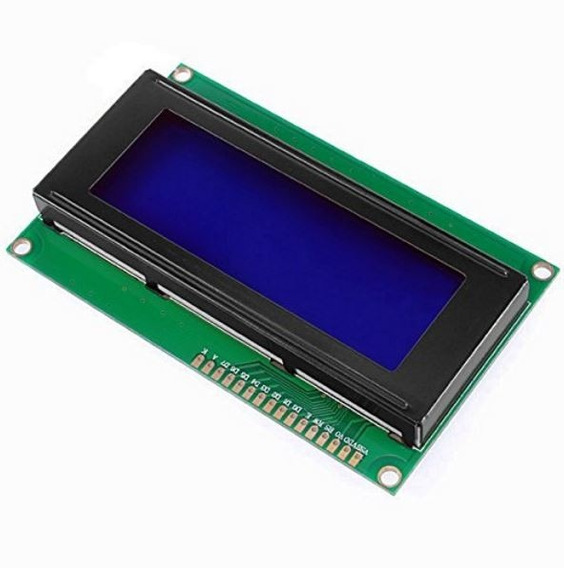 Display Lcd 20x04 Alfanumérico Backlight Azul 2004 4 Linhas